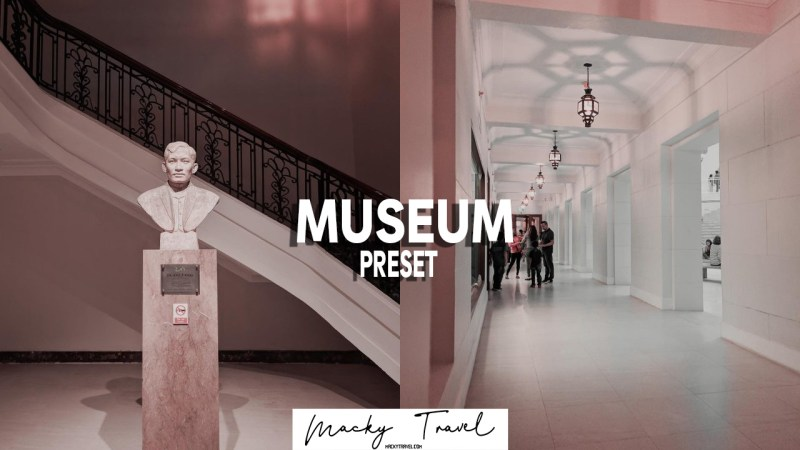 museum lightroom mobile preset