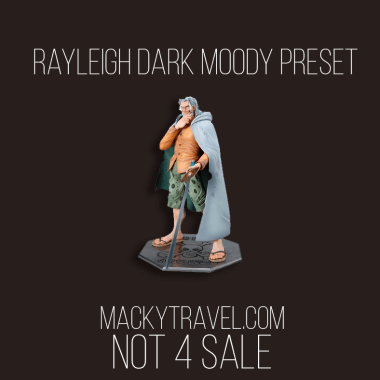 Rayleigh Dark Moody Lightroom Mobile Preset