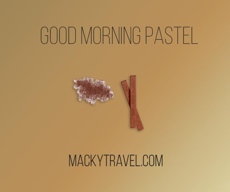 good morning pastel