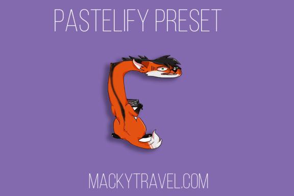 pastelify lightroom mobile preset