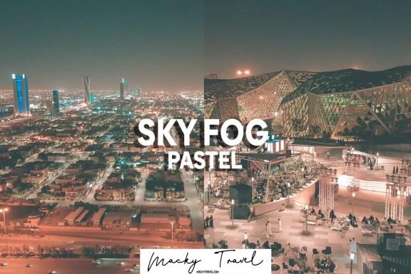 sky fog pastel lightroom preset