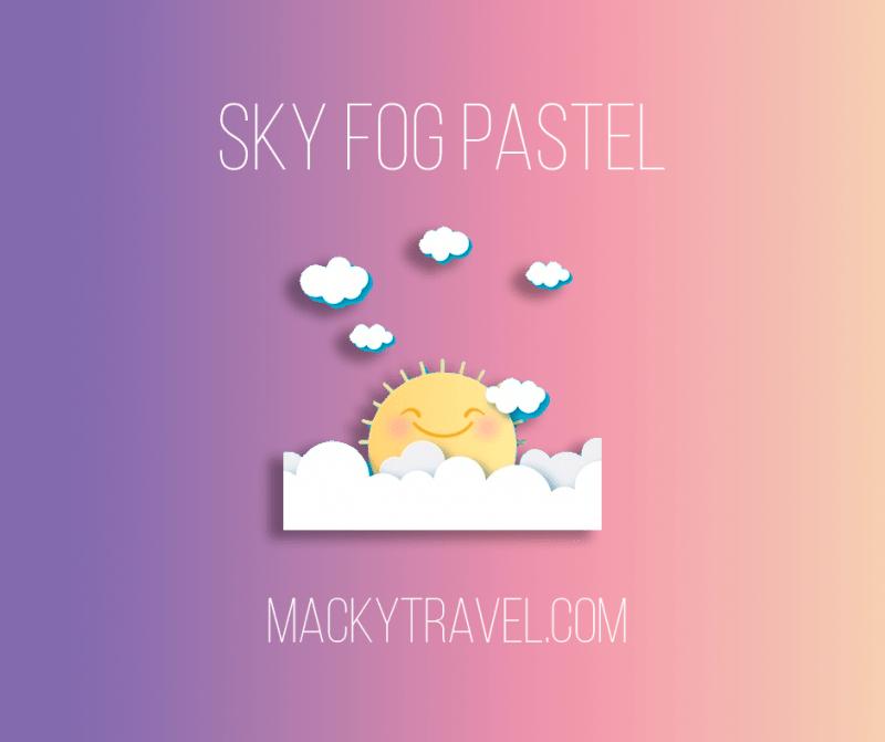 Sky Fog Pastel Lightroom Mobile Preset
