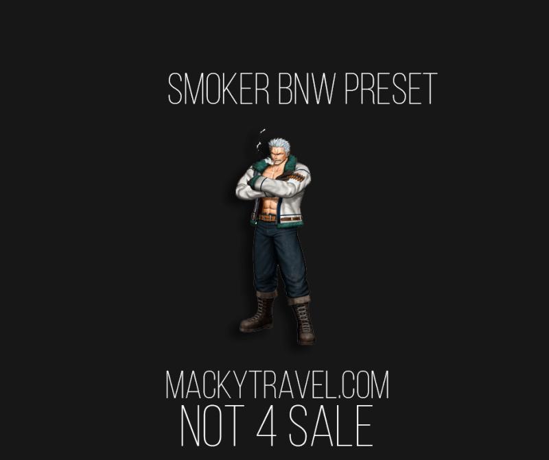 Smoker BNW Lightroom Mobile Presets
