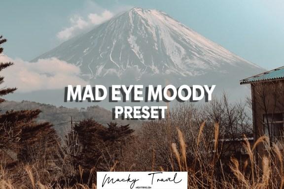 mad eye moody lightroom preset