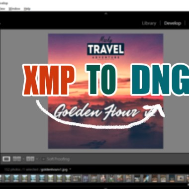 convert xmp to dng lightroom