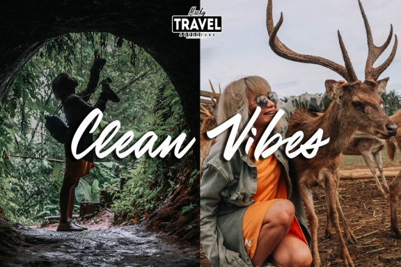 clean vibes mobile lightroom presets
