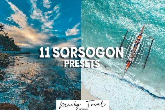 11 Premium sorsogon lightroom presets