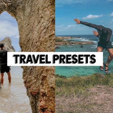 travel lightroom presets mobile desktop