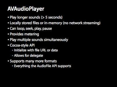 AVAudioPlayer