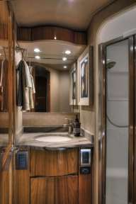 viking 62 convertible yacht granite countertop bathroom