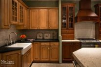 Soapstone and White Granite showroom kitchen displays