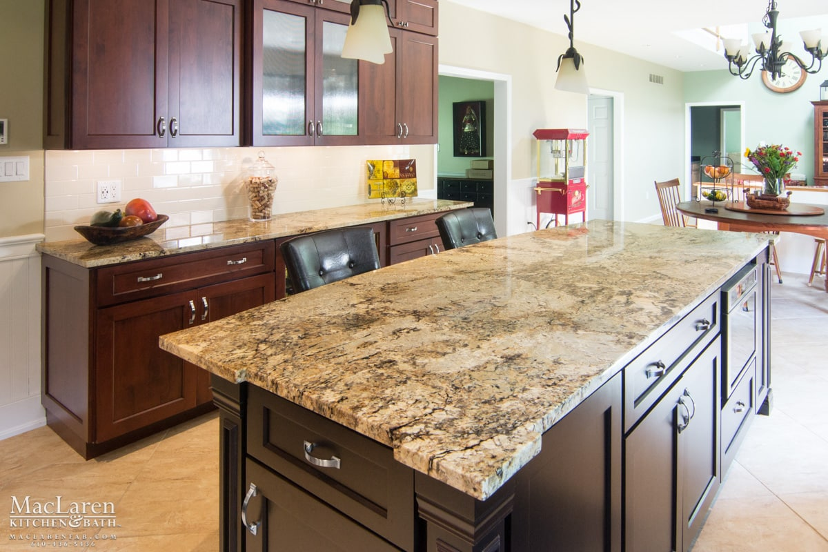 Merveilleux Custom Granite Island Countertops With Corner Detail West Chester PA By  MacLaren