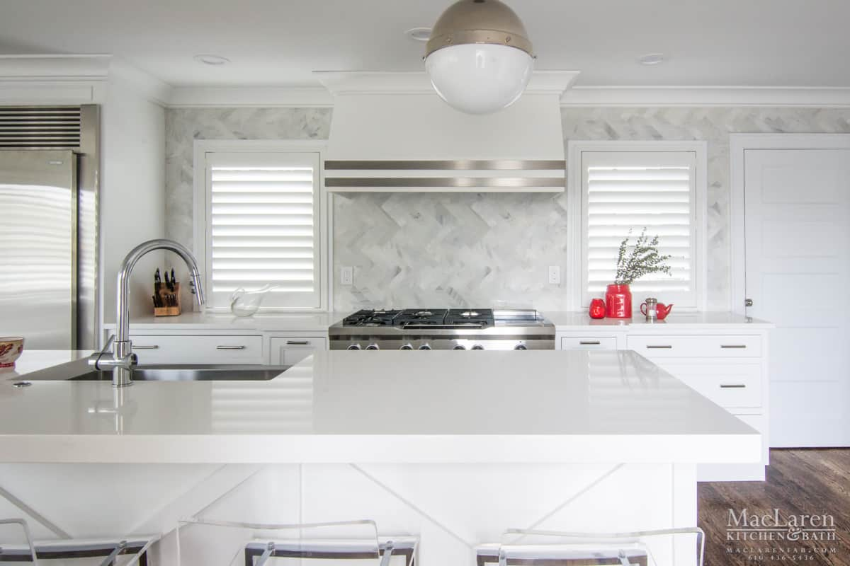 - Contemporary Designer Kitchen- Avalon, NJ - MacLaren Kitchen And Bath