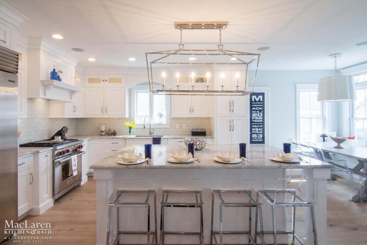 Nautical Themed Kitchen Avalon NJ  MacLaren Kitchen and