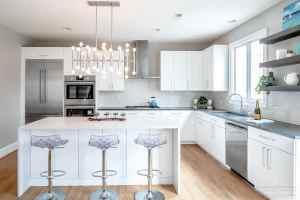Sharp Edges of Design in this Modern Kitchen by MacLaren Kitchen and Bath