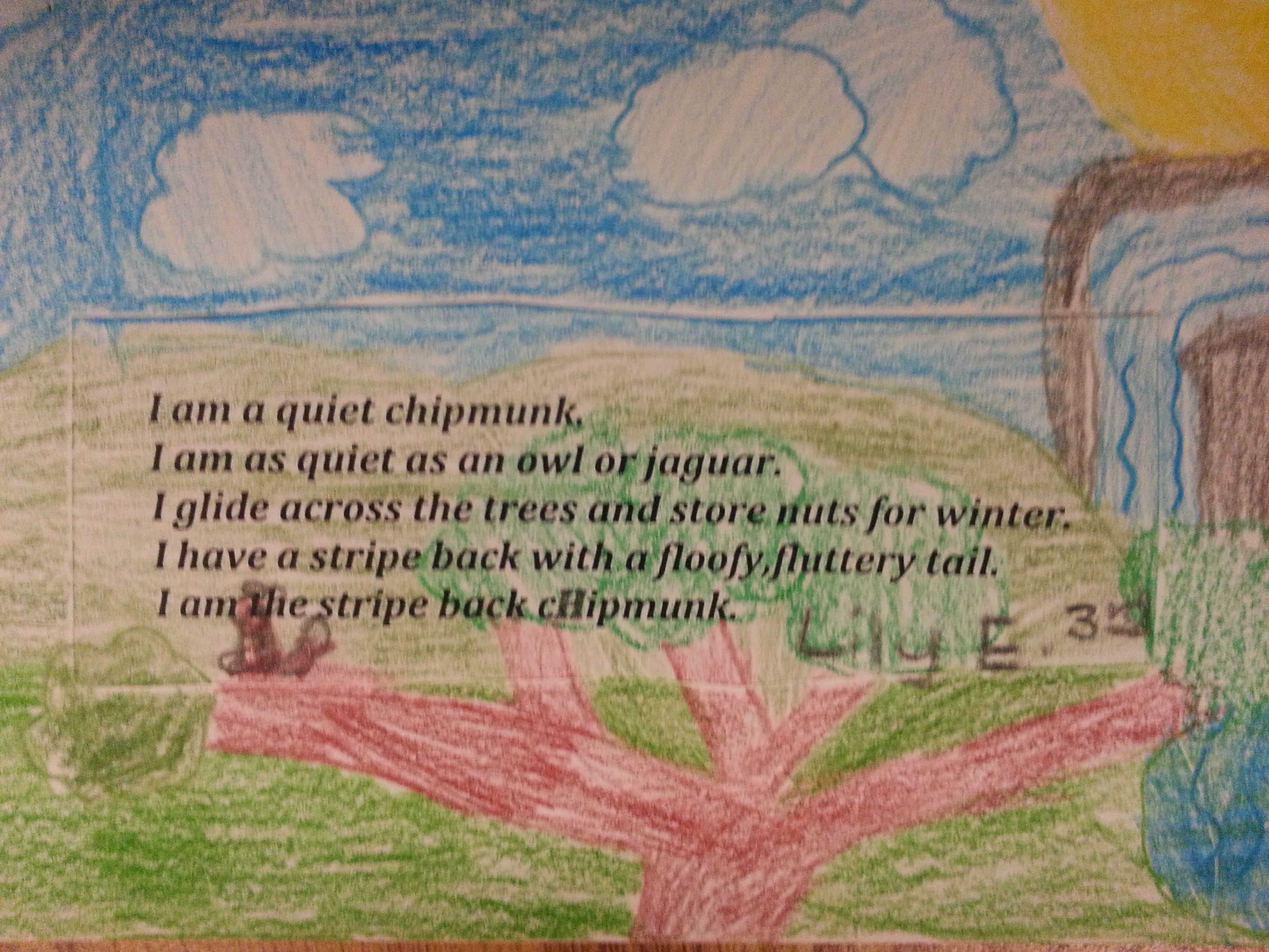 Thirty Days Of Student Poetry Day 28 Third Grade Poetry