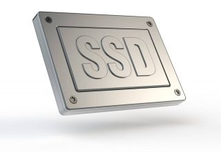 SSD Solid State Drive. Mac Upgrade