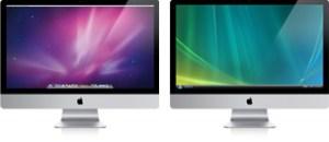 Mac OS X and Windows on Mac