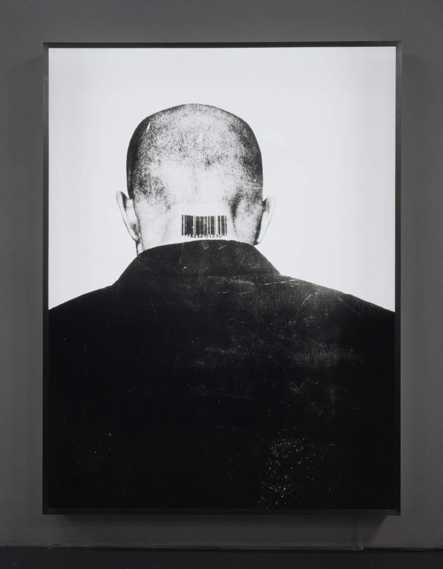Generic Man, 1987-1989, printed of 2002, Duratran display transparency and light box.