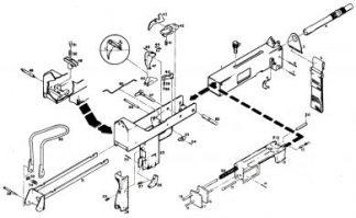 MAC Machine Gun Parts