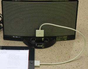 Using Your iPad with Bose Sound Dock – The MacMAD Apple User Group