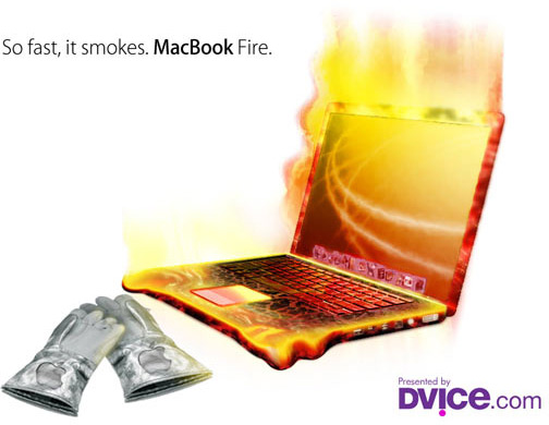 MacBook Fire