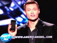 iPhone durante American Idol