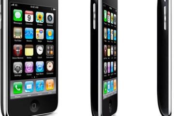 iPhone 3GS virando de lado