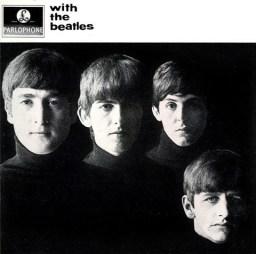 "Capa de ""With The Beatles"""