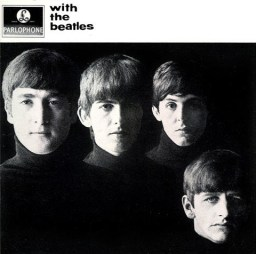 "Capa de ""With The Beatles"""