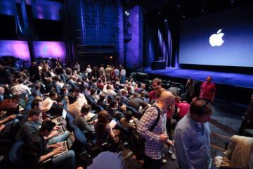 Auditório de keynote da Apple