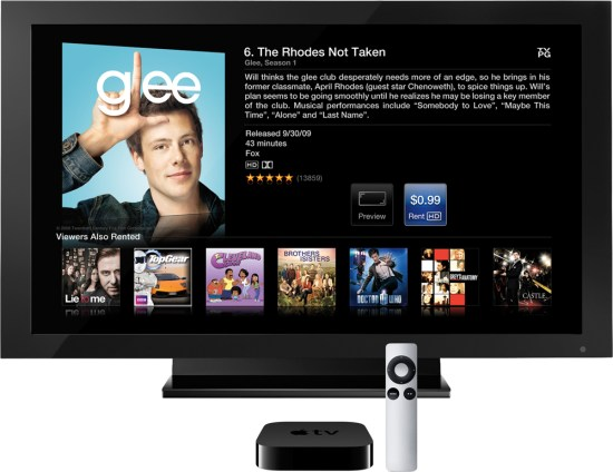 Glee no Apple TV