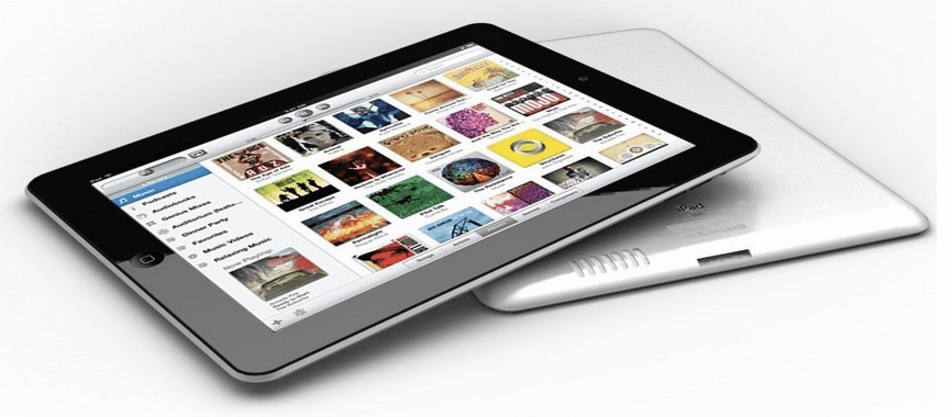 Mockup do novo iPad