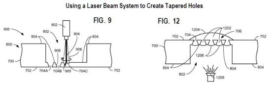 Patente de microperfurações