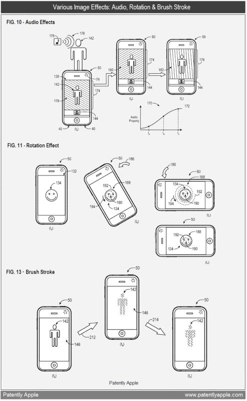 Patente de efeitos especiais em imagens no iOS