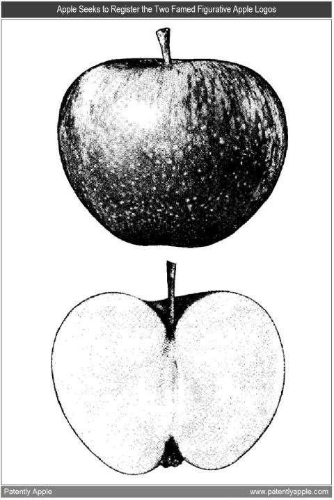 Registro de marca das maçãs da Apple Corps
