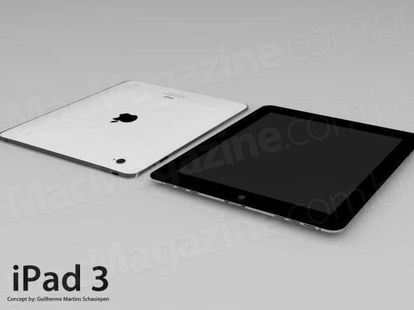 Mockup de iPad 3/HD
