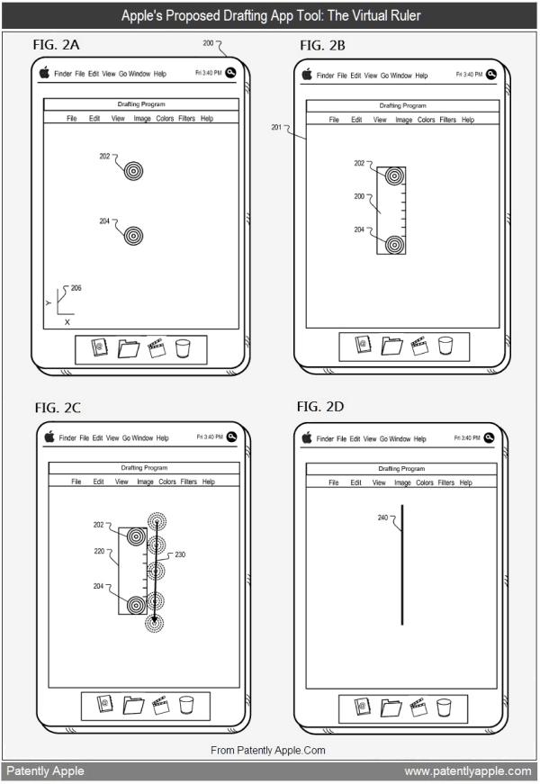 Patente de app de desenho no iPad