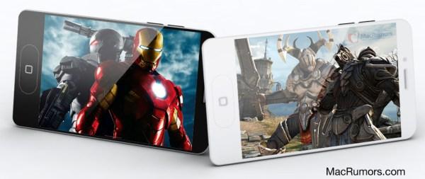 Mockup do iPhone 5 baseado em cases