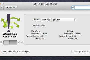 Network Link Conditioner - Xcode do Lion
