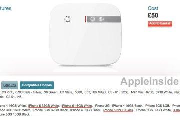 Vodafone sobre iPhone 5