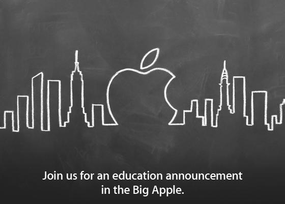 Evento da Apple sobre educação