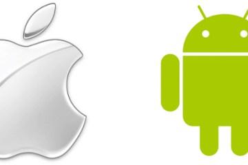 Logo Apple e Android