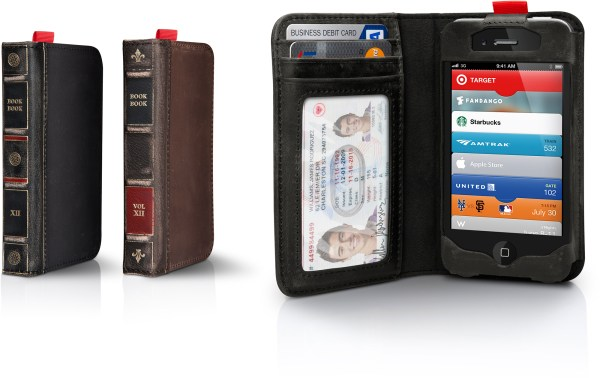 Nova BookBook para iPhone