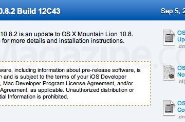 Build do OS X 10.8.2
