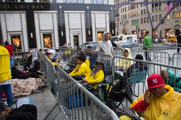 Fila da Apple Store Fifth Avenue - iPhone 5