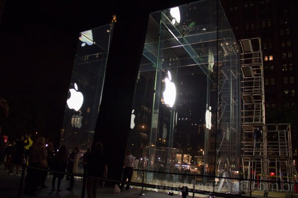 Fila da Apple Store Fifth Avenue - iPhone 5