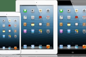 Linha de iPads