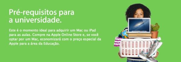 Volta às aulas da Apple