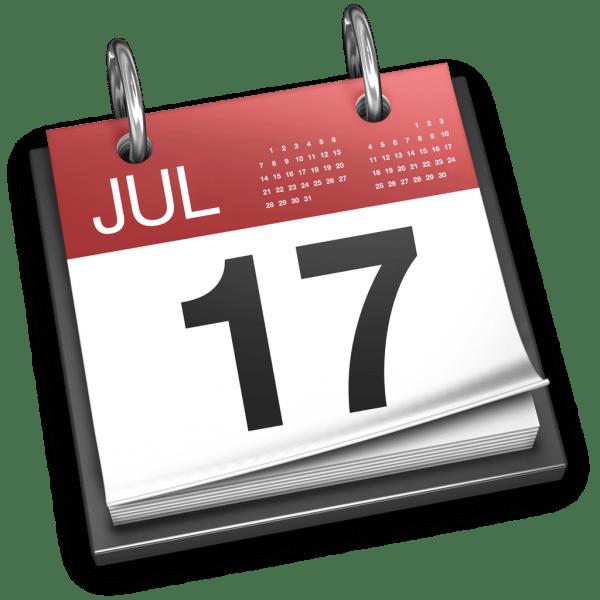 Ícone - Calendário do OS X